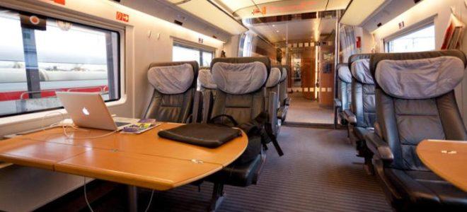 First Class Train Travel Advantages