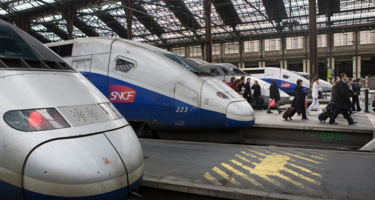 Student Train Travel In France