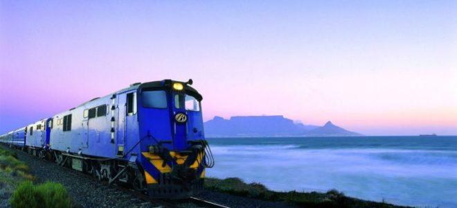 Blue Luxury Train Journeys in Africa