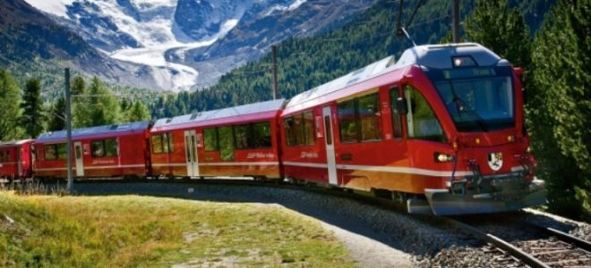 European Rail Travel Journey