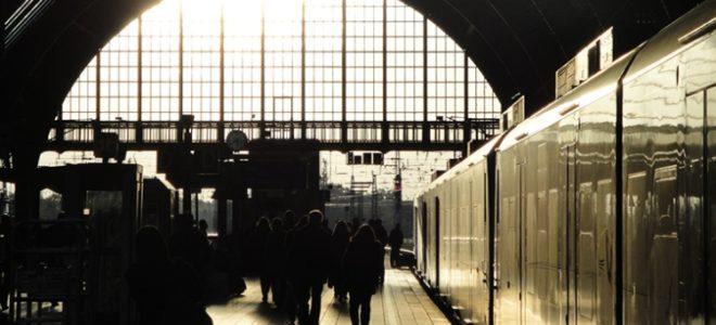 Student Train Travel Around Europe
