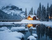 Fun Family Winter Vacation In The Canadian Rockies
