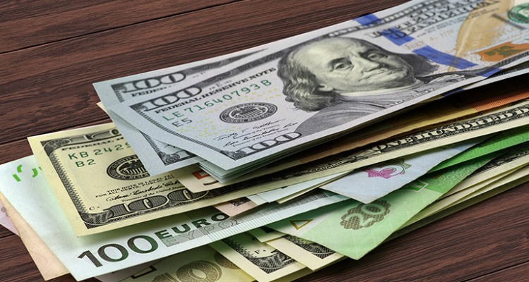 Have all money exchanged into the proper currency or open a new account